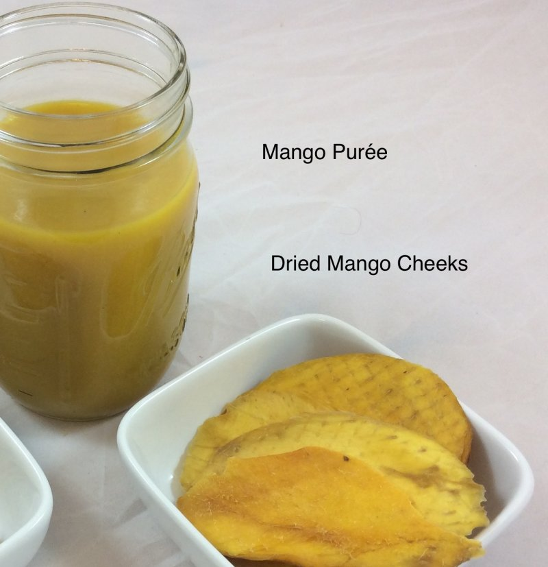 organic mango ingredients