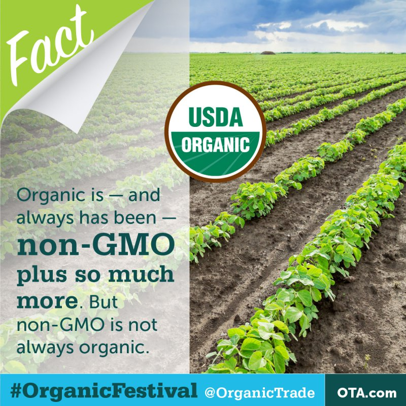 Organic is Non-GMO and so Much More (OTA)